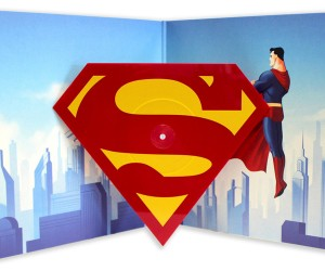 Mondo Superman: The Animated Series Die-Cut Single