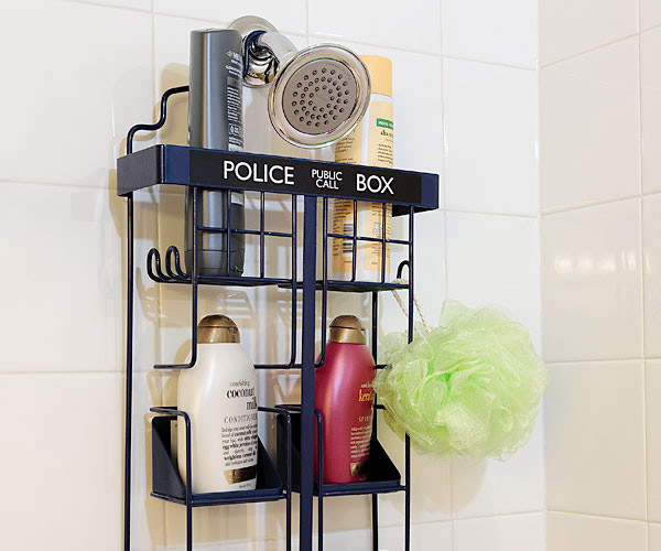 TARDIS Shower Caddy