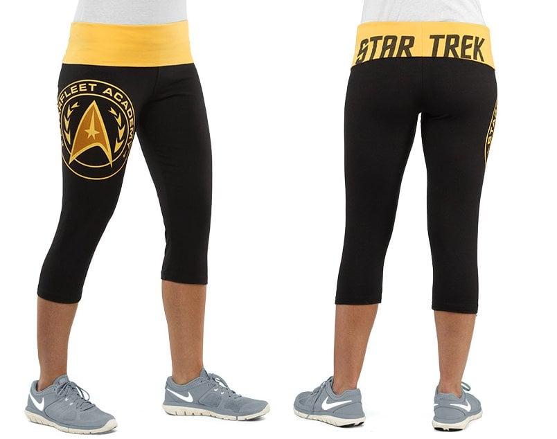 Starfleet Academy Capri Yoga Pants - MightyMega