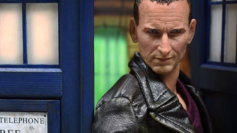 This Christopher Eccleston Doctor Who Figure Is Amazing
