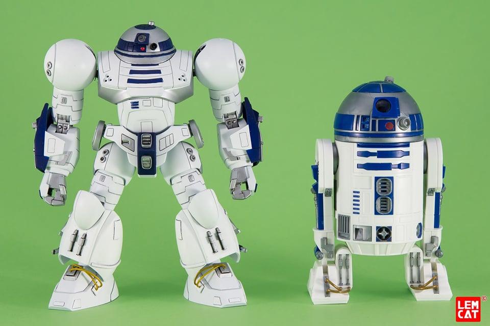 Custom R2-D2 Hi-Mock Gunpla