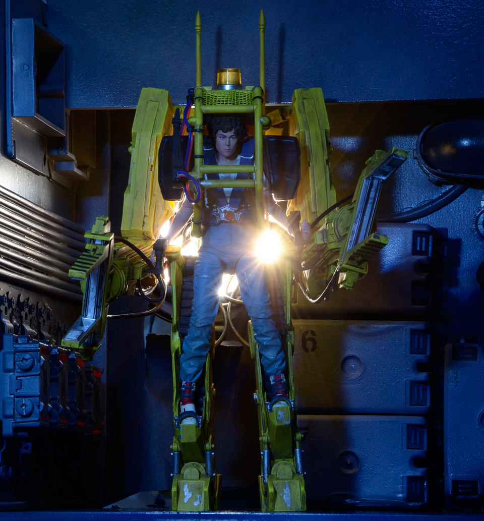 NECA Aliens Power Loader Deluxe Vehicle