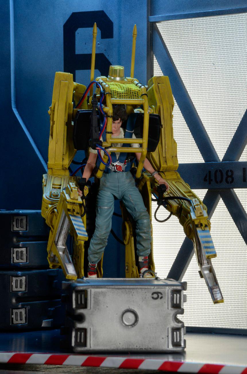 & NECA Aliens Power Loader Deluxe Vehicle - MightyMega