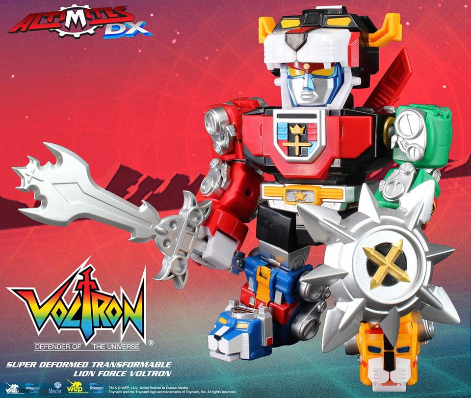 Voltron Lions Colors Toynami Altimites DX S...