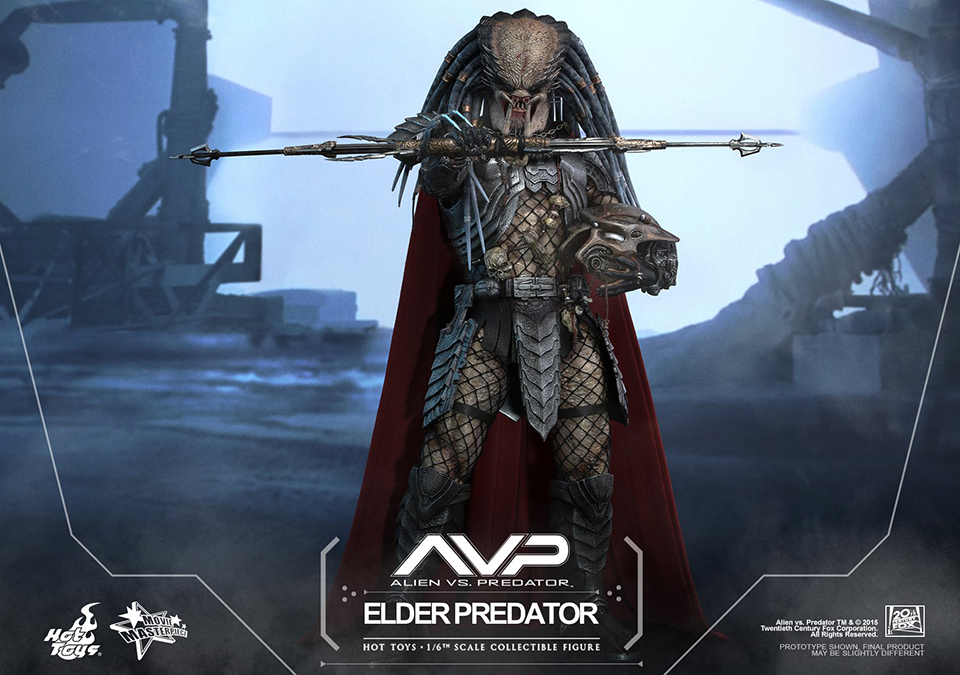 Hot Toys Sixth Scale AVP Elder Predator V2