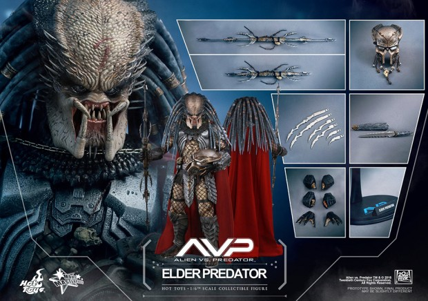 avp_alien_versus_predator_elder_predator_version_2_action_figure_hot_toys_2