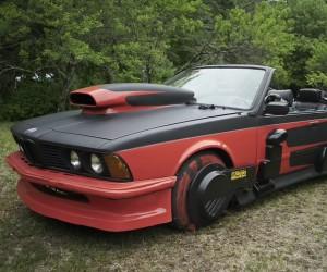 Inside Griff Tannen's BMW