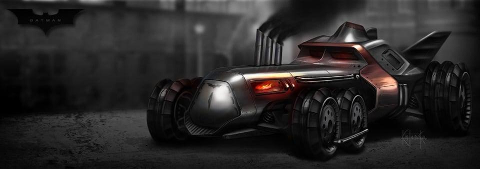 The Batmobile Goes Steampunk