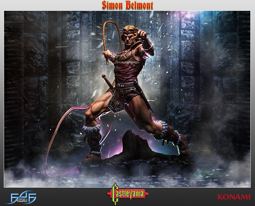 First 4 Figures Castlevania Simon Belmont Fourth Scale Statue