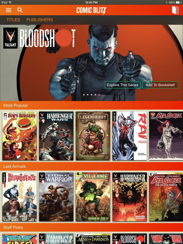 Comic Blitz: All-You-Can-Read Digital Comic Book Subscription