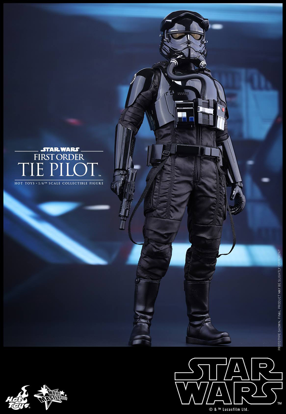 Hot Toys First Order TIE Pilot 1:6 Scale Figure
