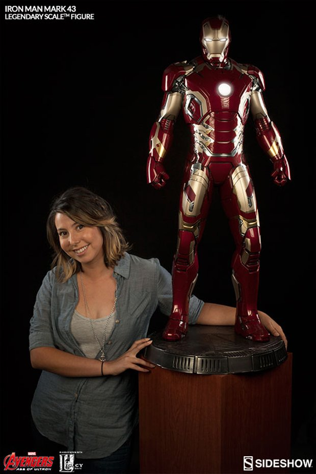 Sideshow Legendary Scale Iron Man Mk. 43 Maquette