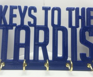 Doctor Who TARDIS Key Rack