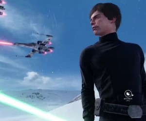 Luke Skywalker Crushed by AT-AT in Star Wars: Battlefront