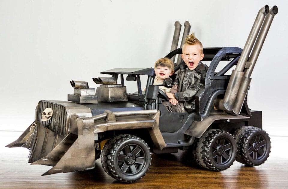 Mad Max Power Wheels War Rig