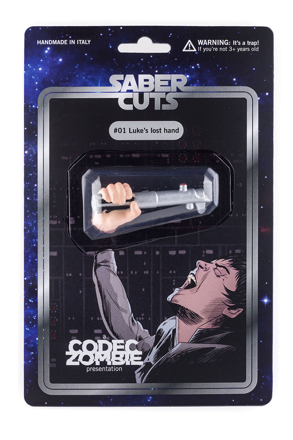 Luke's Lost Hand Gets an Action Figure