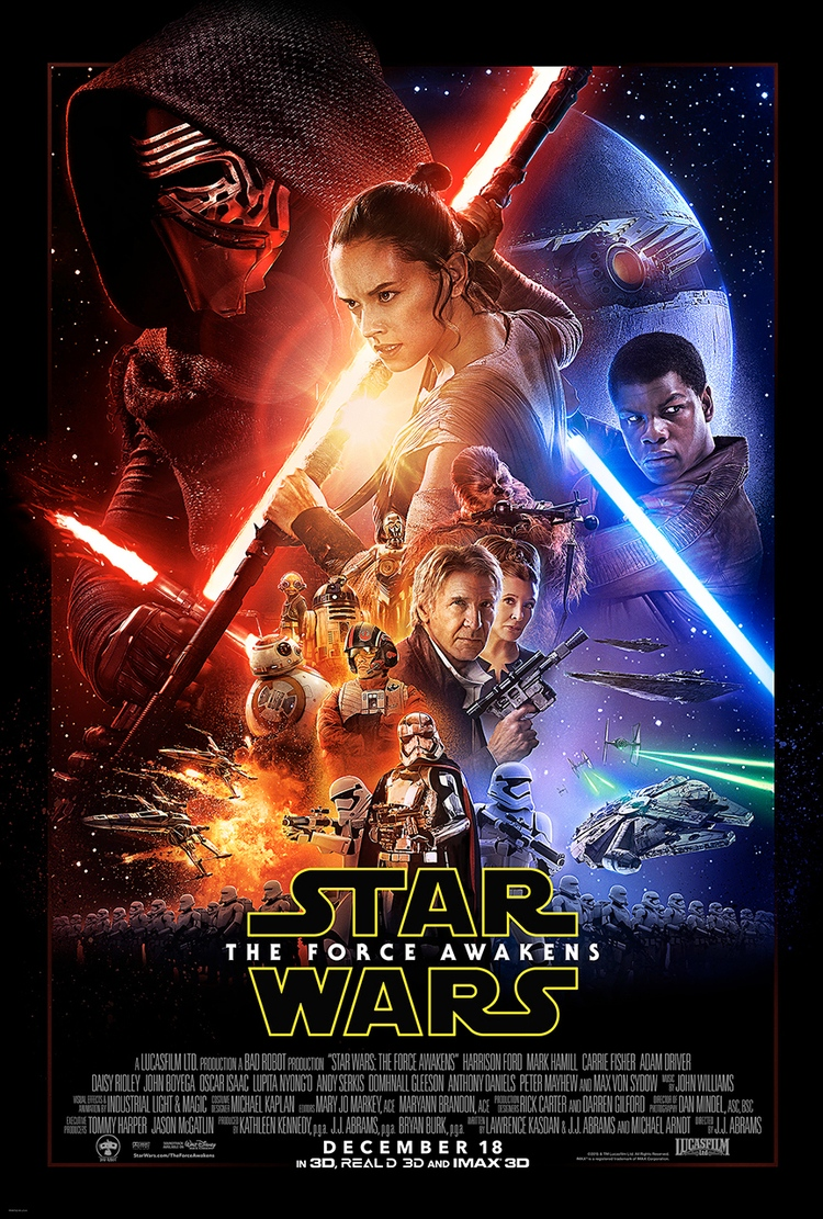 The Official Poster for Star Wars: The Force Awakens Is Here