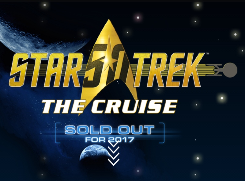 The First Official Star Trek Cruise Sold out, Win the Final Cabin
