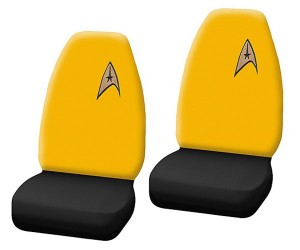 Star Trek Bucket Seat Covers for Your 4-Wheeled Starship
