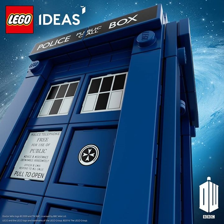 LEGO's Official TARDIS Playset is Materializing Soon