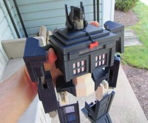Doctor Who + Transformers = TARDIS Prime