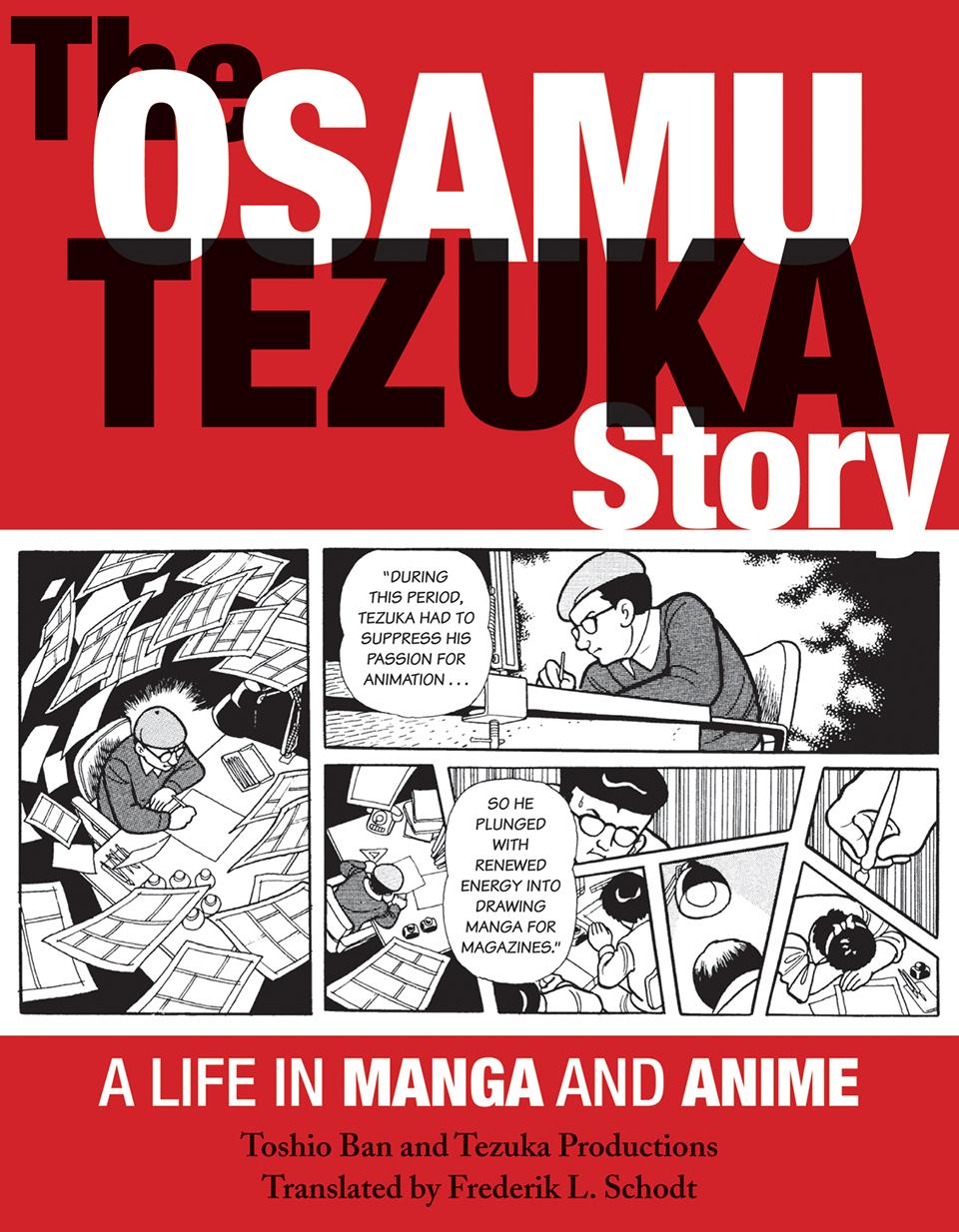 The Osamu Tezuka Story Graphic-format Biography