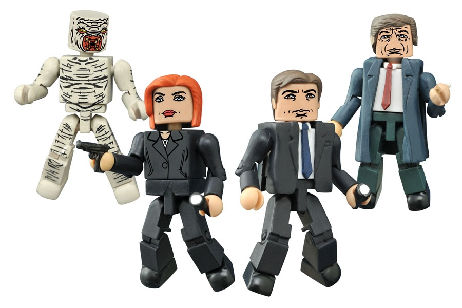 New X-Files Minimates and Action Figures Coming
