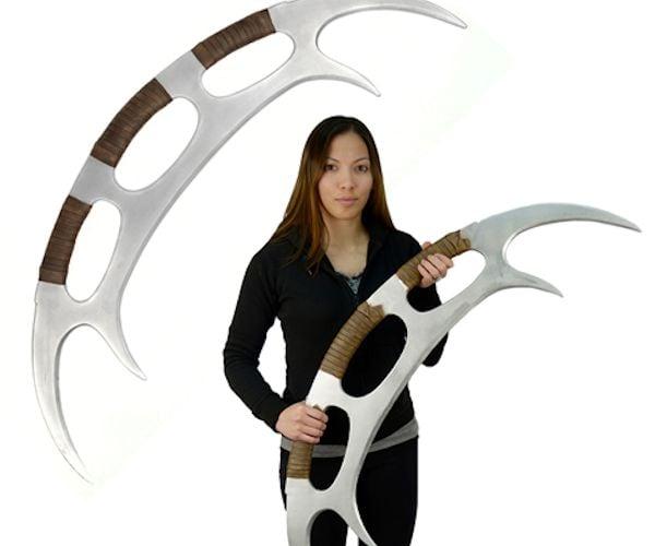 Klingon Bat'leth Weapon Foam Prop Replica