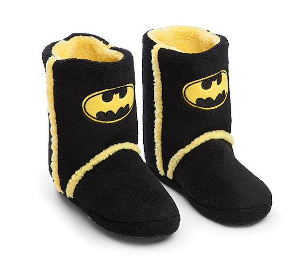 Batman Boot Slippers