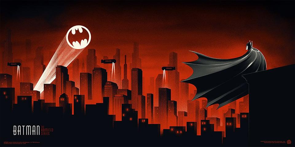 Batman: The Animated Series Single Gatefold Print