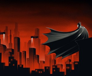 Batman: The Animated Series Single Gatefold Print