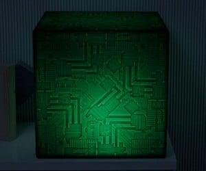 Star Trek Borg Cube Light-up Chair