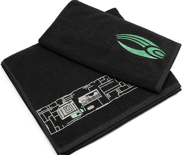 Star Trek Borg Bath Towel Set