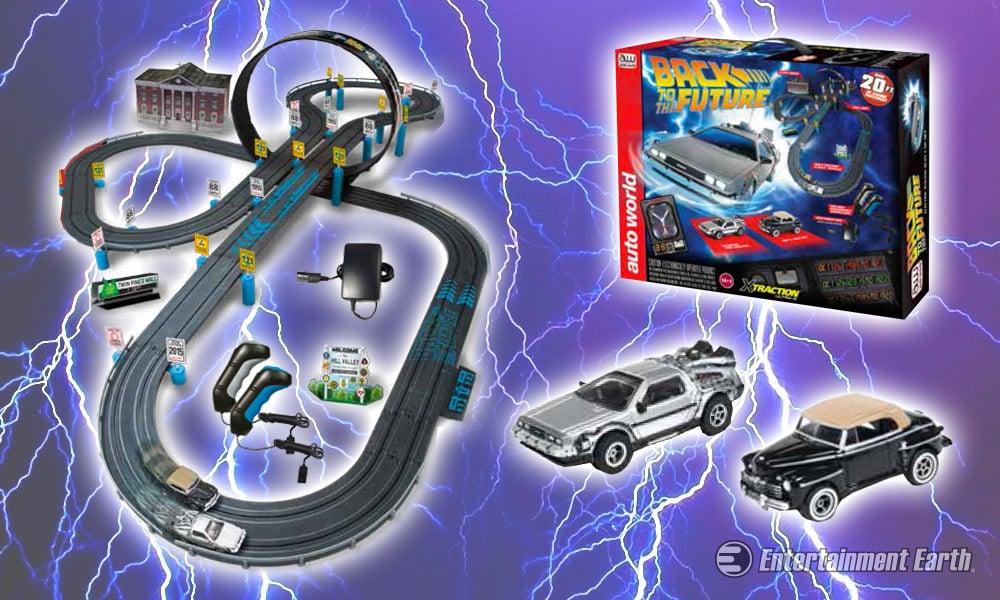 Back to the Future Slot Car Race Set