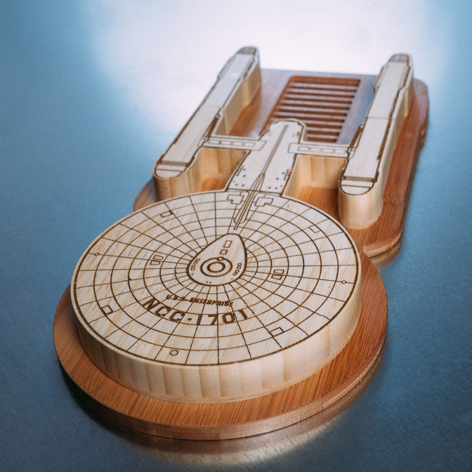 USS Enterprise Cutting Board