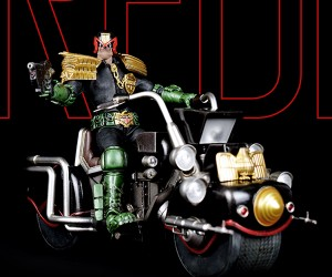 3A 12th Scale Judge Dredd & Lawmaster Mk1 Figures