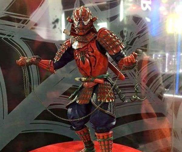Samurai Spider-Man Action Figure