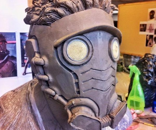 James Gunn Shows off Early Star-Lord Helmet Design