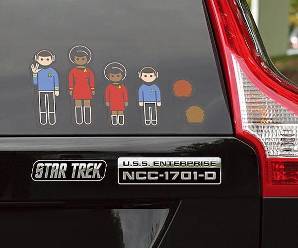 Star Trek Science Communicator Insignia Vinyl Car Laptop Decal Decal Drama