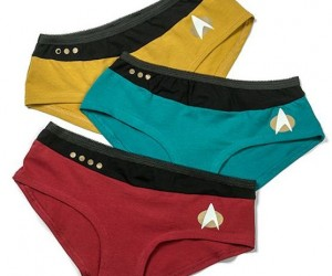 Star Trek TNG Uniform Panties