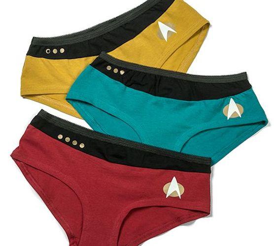 Star Trek TNG Uniform Panties