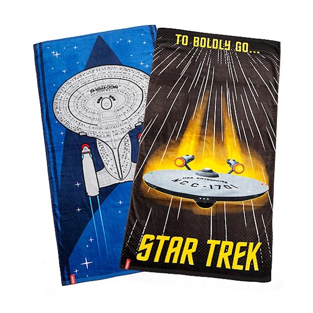 Star Trek Beach Towels