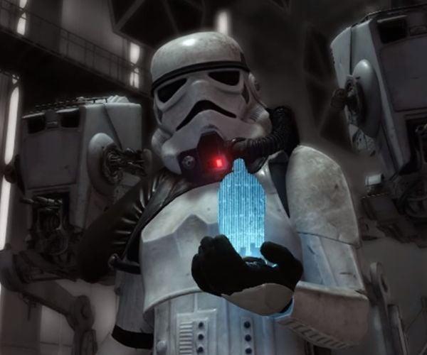 Stormtrooper Blooper Recreated In Star Wars Battlefront