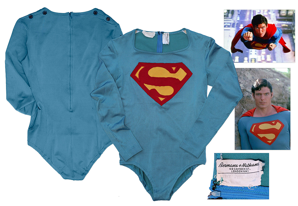 1978 Superman Tunic Costume Up for Grabs
