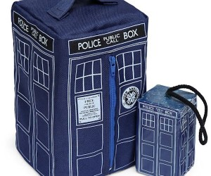 Doctor Who TARDIS Soap and Toiletry Bag
