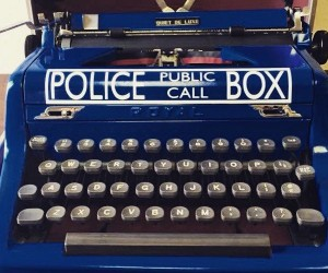 The TARDIS Typewriter