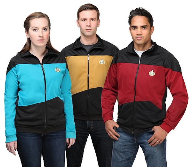 Star Trek TNG Uniform Track Jackets