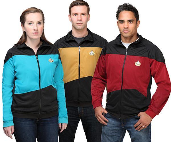 Star Trek TNG Uniform Track Jackets