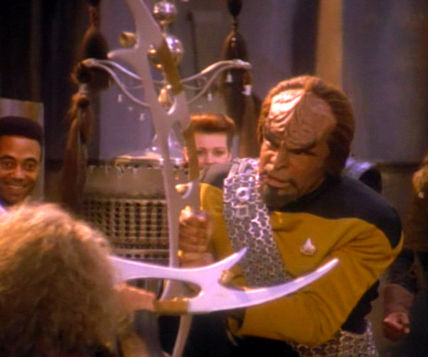 Man Accused of Attacking Neighbor with Klingon Bat'leth