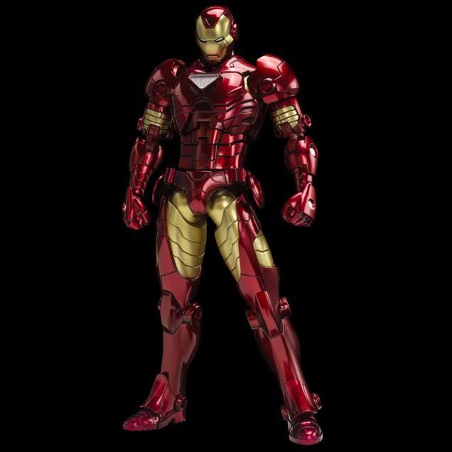 Sentinel Metallic Armorize Iron Man Action Figure